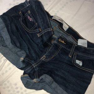 Dark shorts